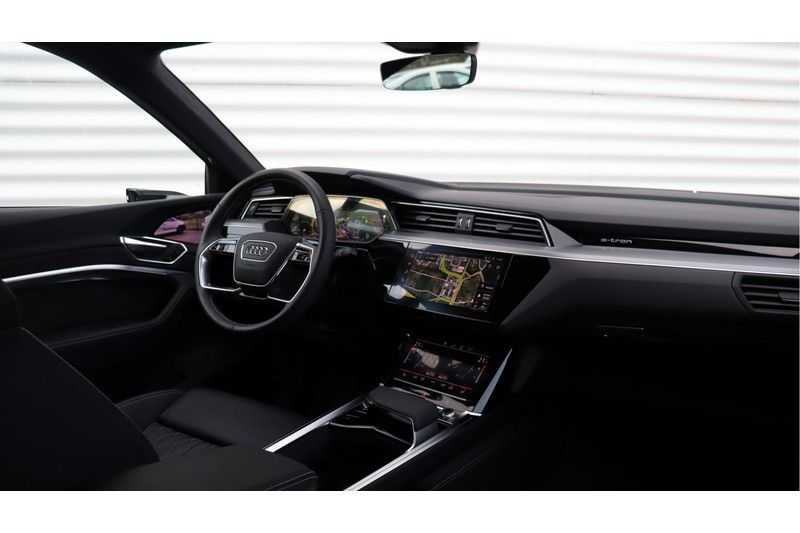 Audi e-tron Sportback 55 quattro S line excl. BTW Panoramadak, S Sportstoelen, Head Up display afbeelding 11