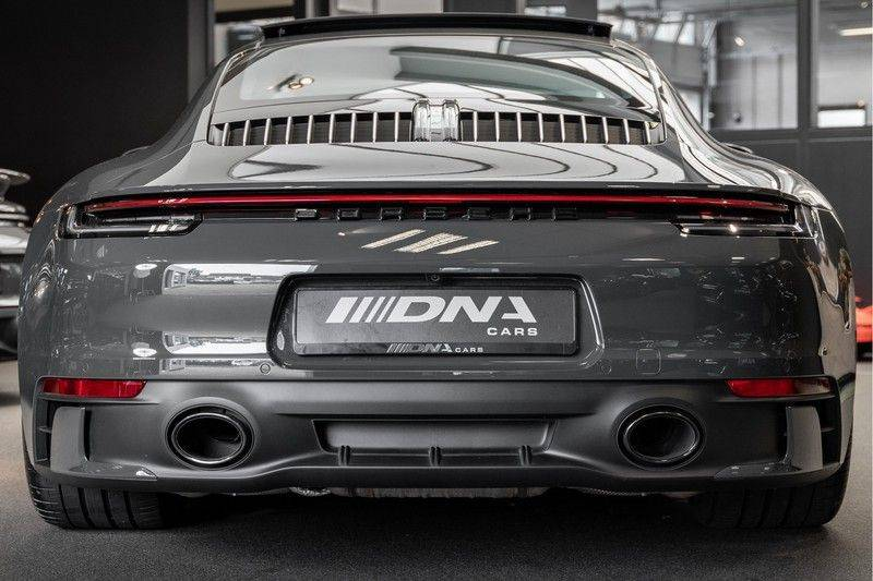 Porsche 911 992 4S PTS Schieffer Grau Slate Grey Sport Design Pakket 930 Leder vol Carbon 3.0 Carrera 4 S afbeelding 2