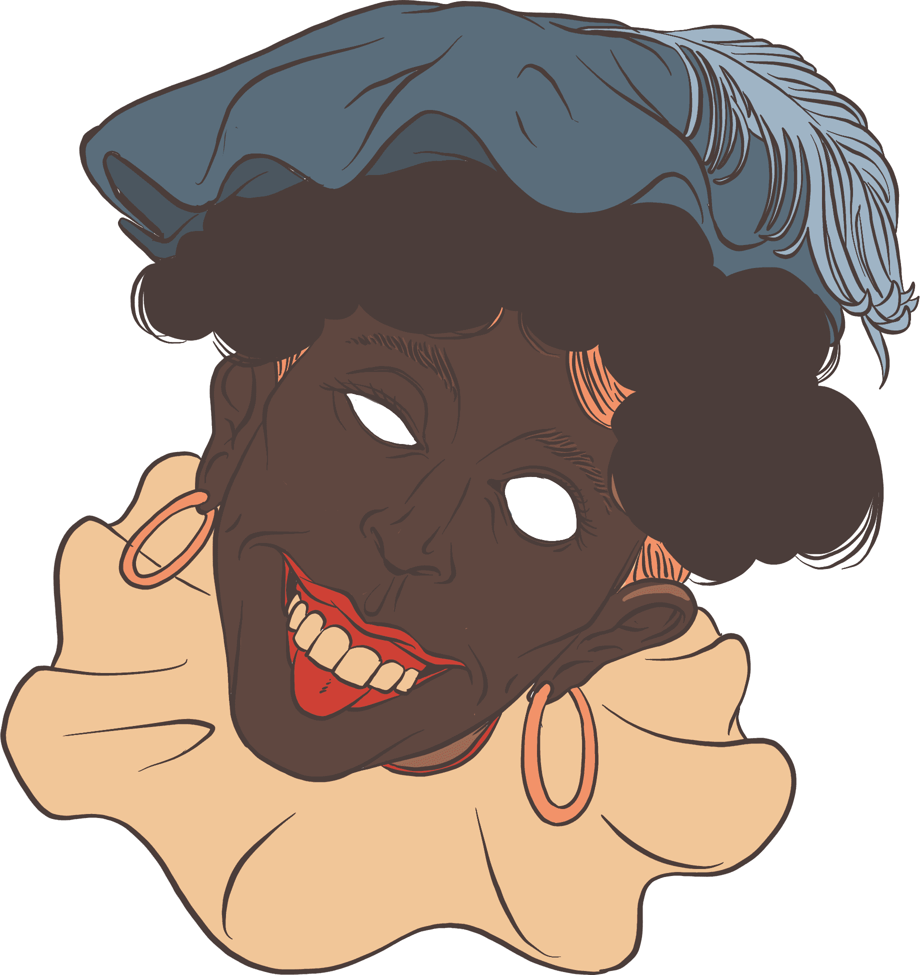Image of some person in blackface