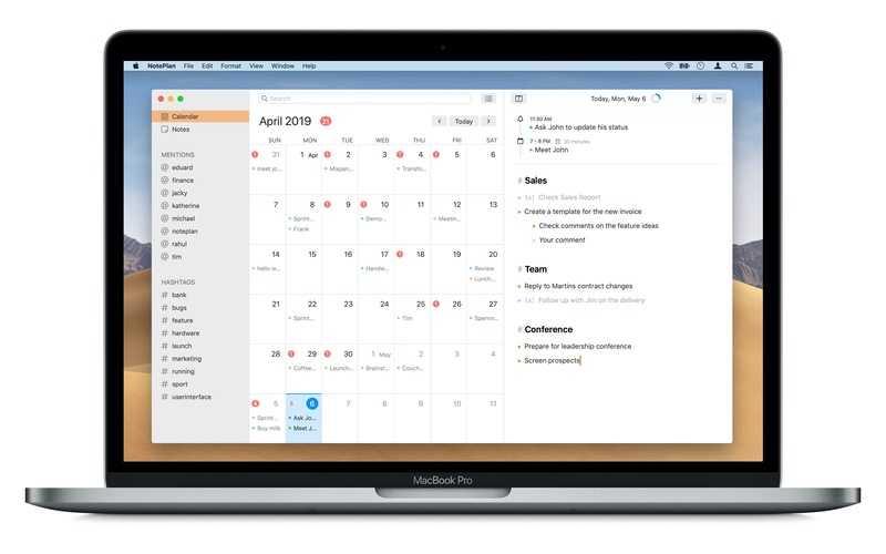 NotePlan 2 on Mac