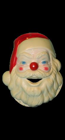 Singing Santa Face photo