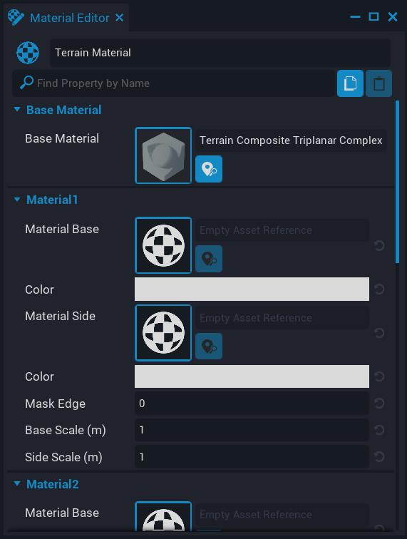 Material Editor