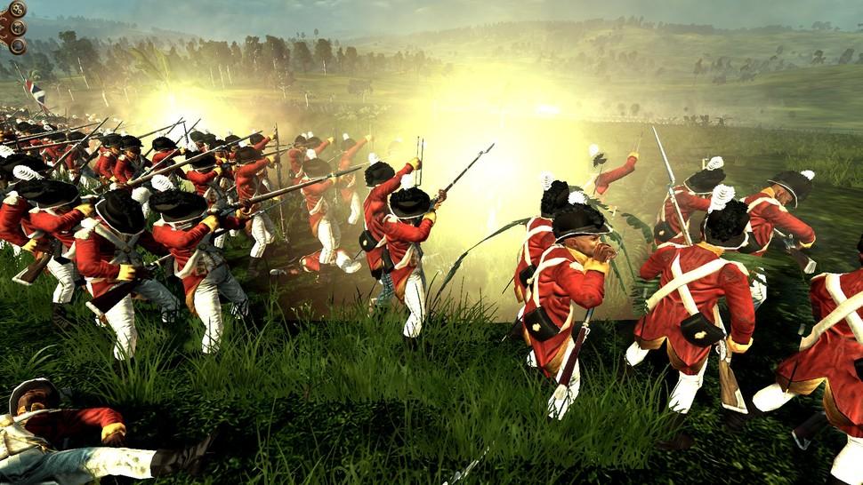 West India Regiment in action