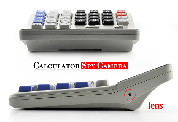 Casio spy calculator