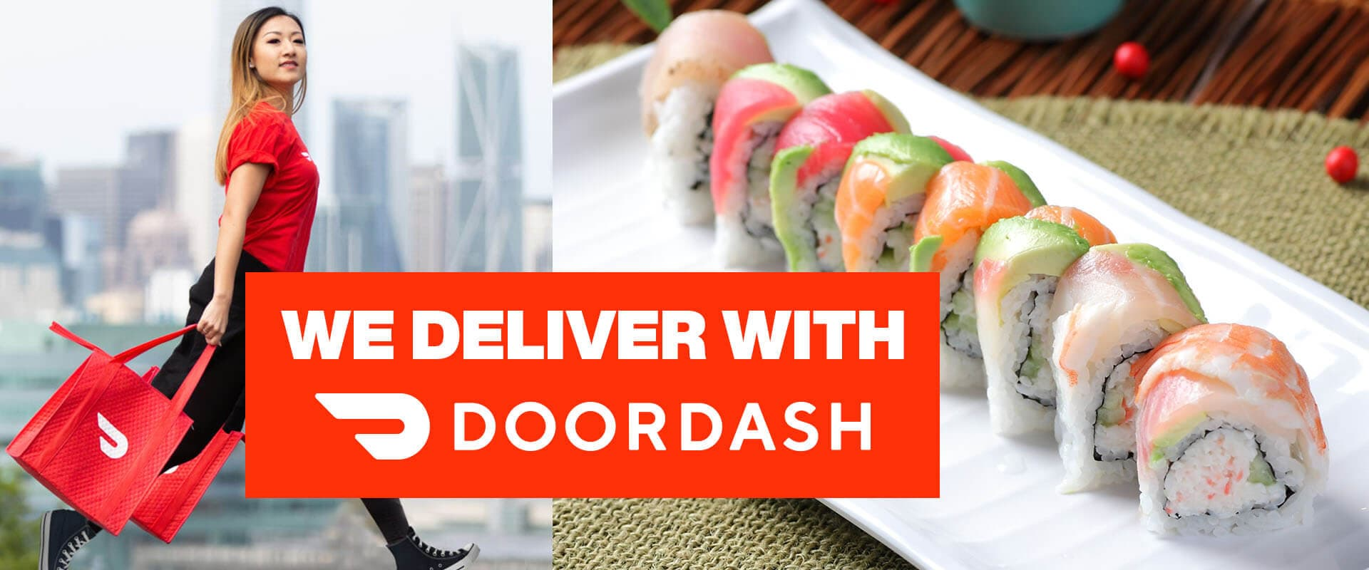 Free online food delivery with DoorDash