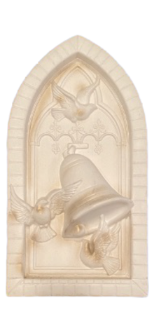 Cathedral Window Plaque photo