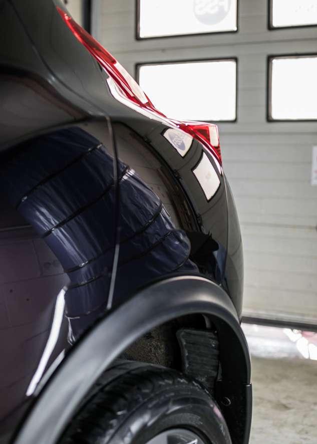 Nissan Juke car before polishing