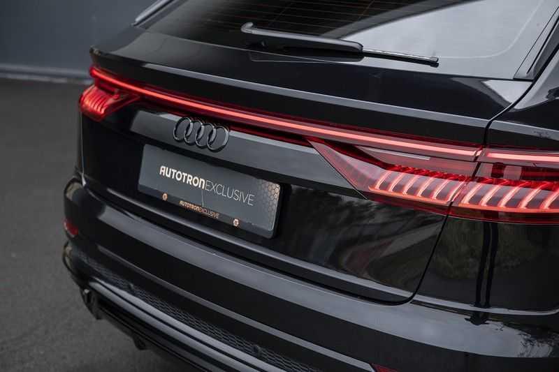 Audi Q8 55 TFSI quattro Pro Line S 3x S-Line! Black pack, 4-wiel-best. / Massage, Verw. & Koelb. stoelen, Bang & Olufsen 3D + Elek.Haak + Ambiente verlichting afbeelding 4