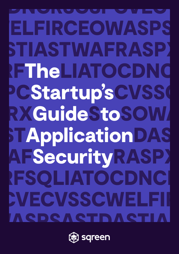 The Startup's Guide to App Sec whitepaper