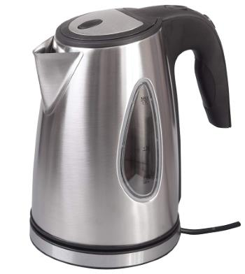 A travel kettle which only has a 1,000 watt power output.