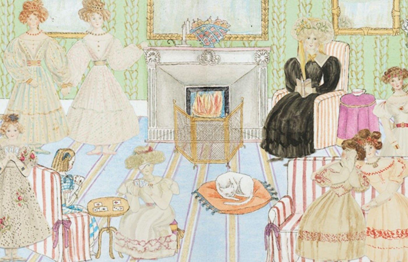 Иллюстрация к книге «Приключения Алисы Ласселлс», написанной королевой Викторией. Фото: Royal Collection Trust
