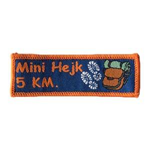 Mini Hejk 5km spejdermærke