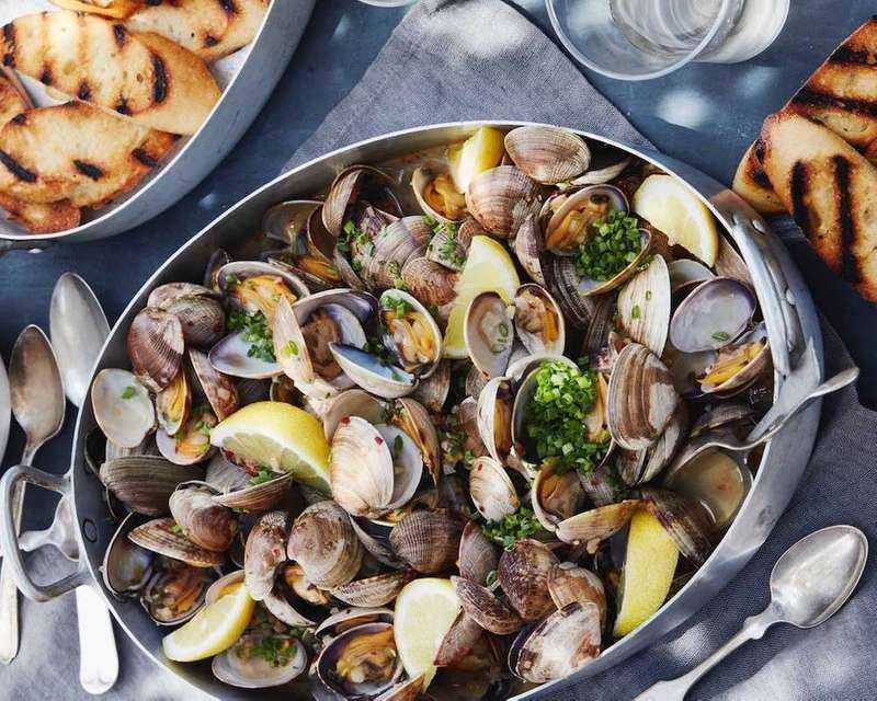 Steam Seafood