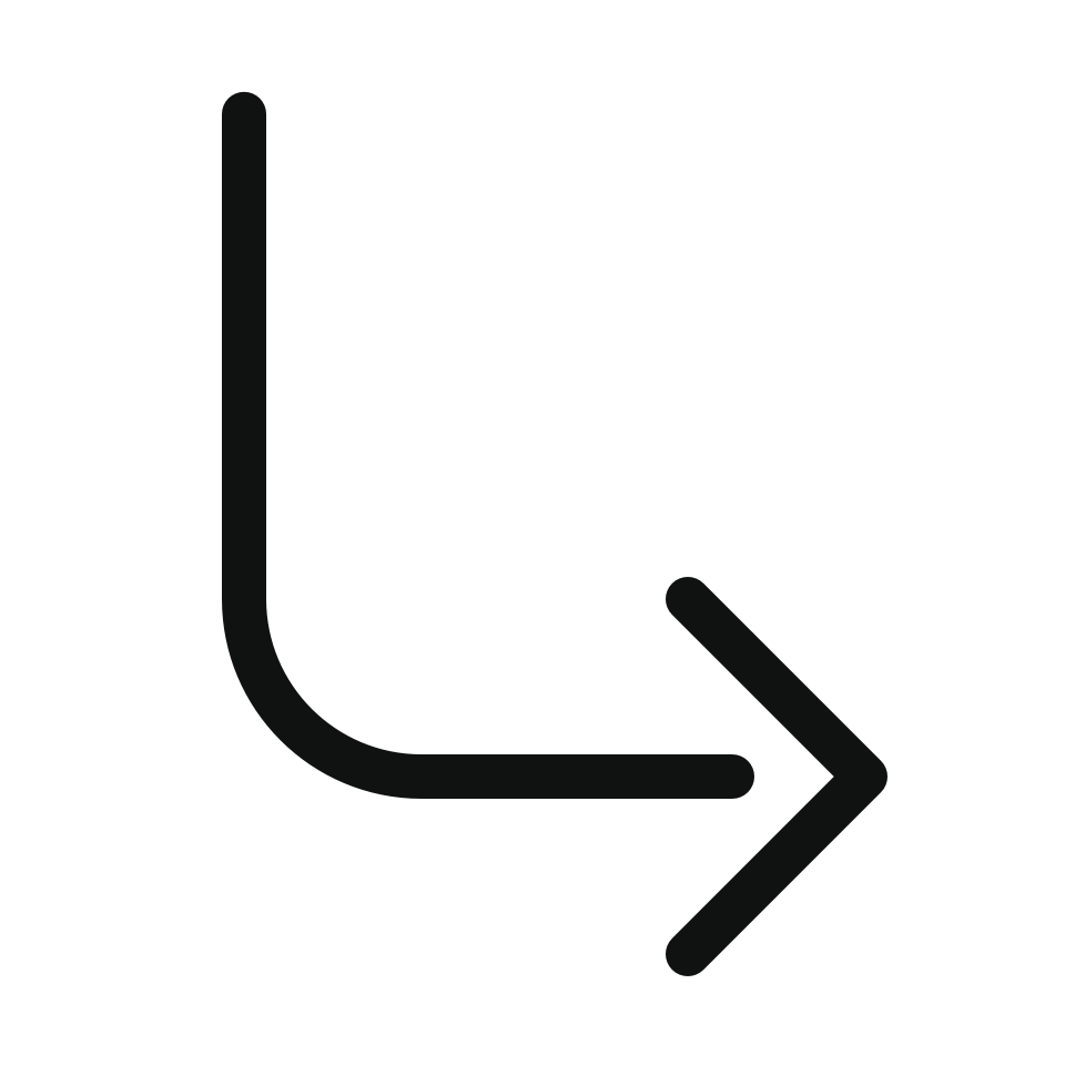 Arrow bend back right
