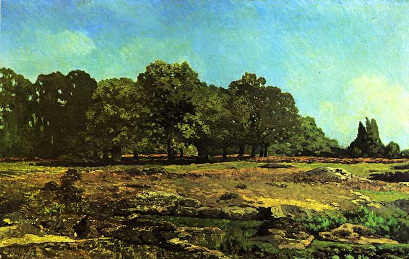 'Avenue of Chestnut Trees near La Celle-Saint-Cloud', painted by Alfred Sisley in 1865