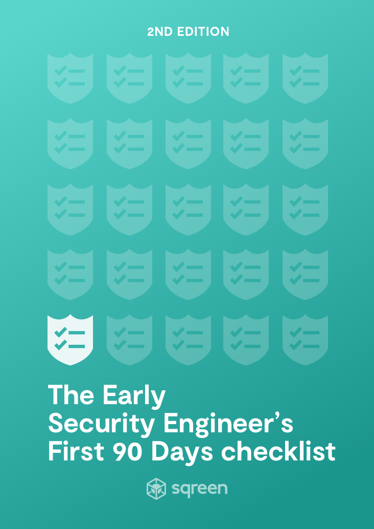 The First Security Engineer's 100-day Checklist
