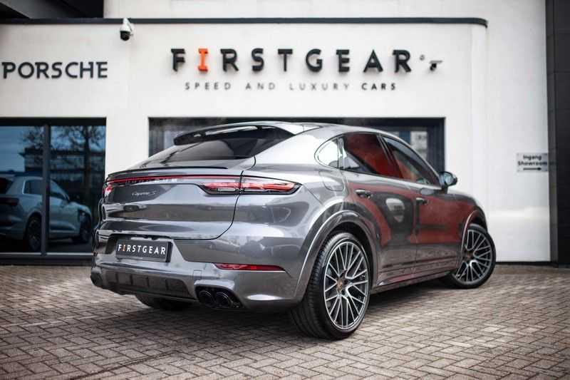 Porsche Cayenne 2.9 S Coupé 12-2020 Sportdesign *BOSE / 4 Wielbesturing / Memory / Sport Chrono / HUD* afbeelding 10