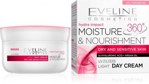 EVELINE Hydra Impact hidratáló és tápláló nappali arckrém 50ml | Eveline Cosmetics