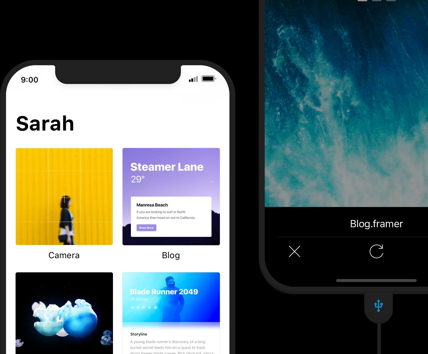 Framer Preview on iOS