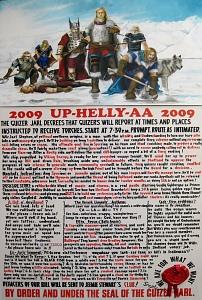 Up Helly Aa Bill 2009