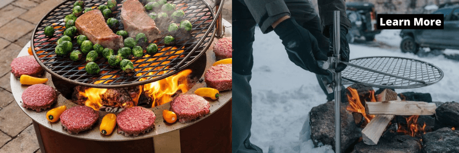 Best Fire Pit Cooking Grates - Breeo Outpost