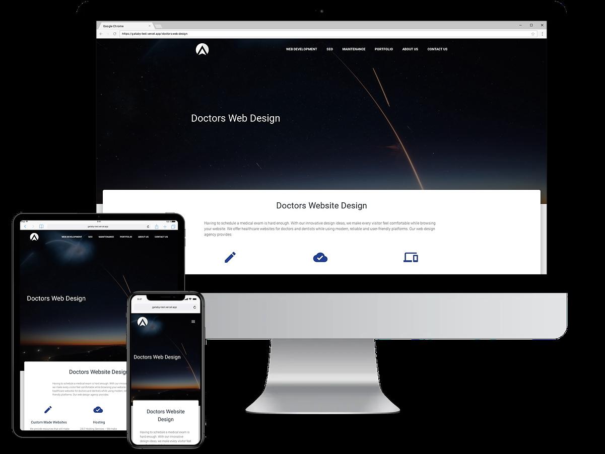 doctors-web-design