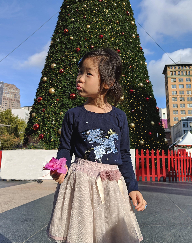 매년 찍는 유니온스퀘어 크리스마스 트리 사진;;;