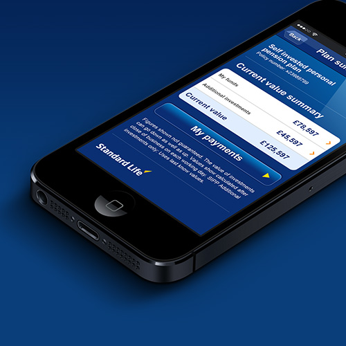 iPhone & iPad app: Standard Life