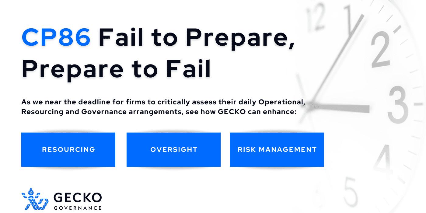 CP86 — Fail to Prepare, Prepare to Fail