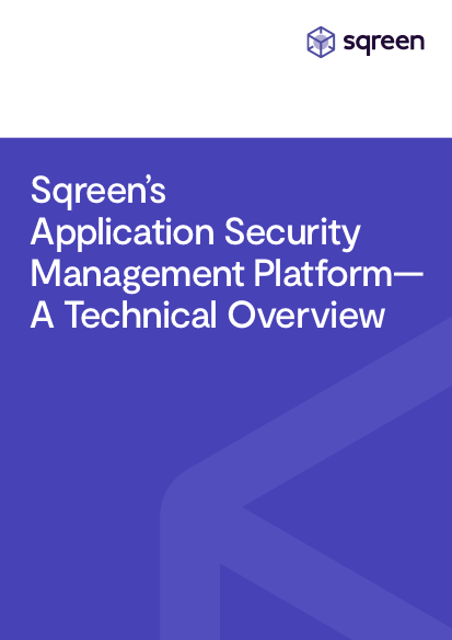 Sqreen Technical Overview Whitepaper