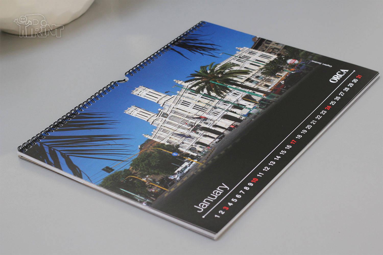 Pakabinamas įmonės kalendorius