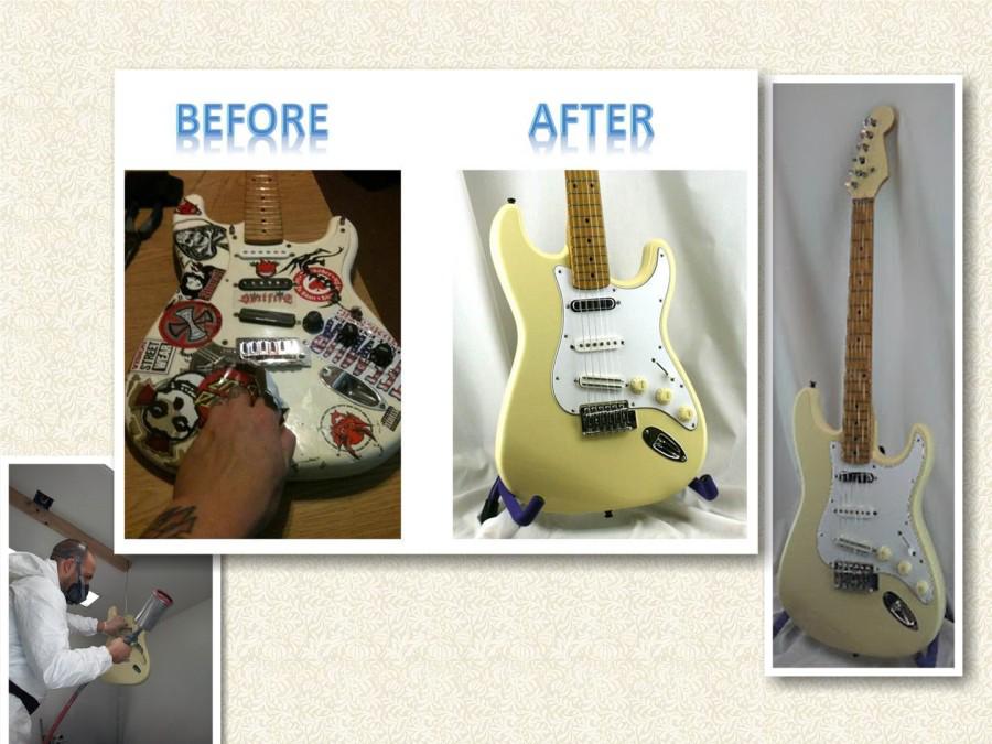 Paint restoration