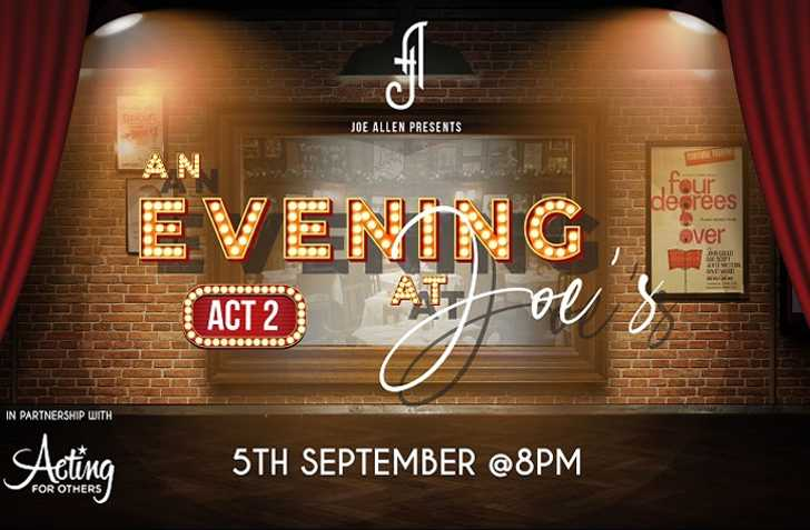 An Evening At Joe's - Act Two