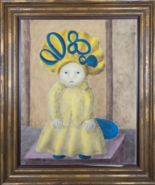 Sevillano - oleo lienzo - 81x65 cm · óleo/lienzo