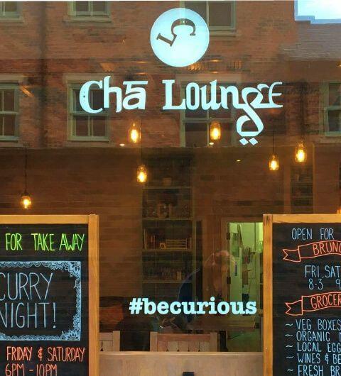 Cha Lounge inside
