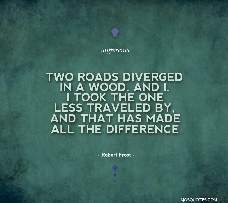 Robert Frost - The Road Not Taken