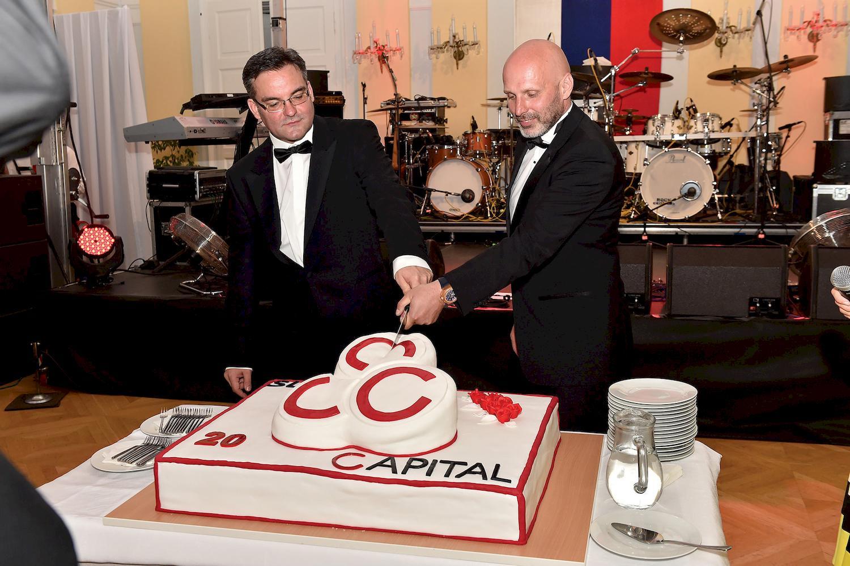 organizácia VIP Eventu pri príležitosti 20. výročia spoločnosti