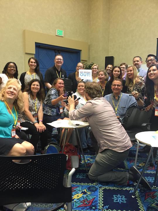 Networken und Teamwork bei Learning 2017