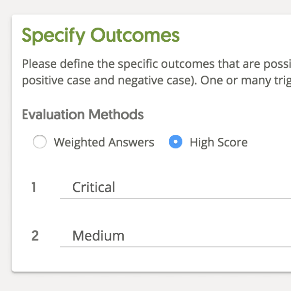 High Score Evaluation for Funnels