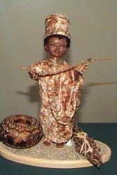 little African boy