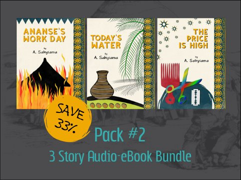 Pack #2: 3 Story Audio-eBook Bundle