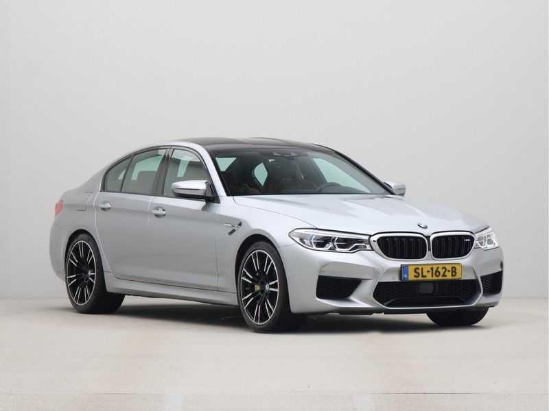 BMW M5 Individual Pure Metal Silver Nw Prijs €. 205.148.- afbeelding 9