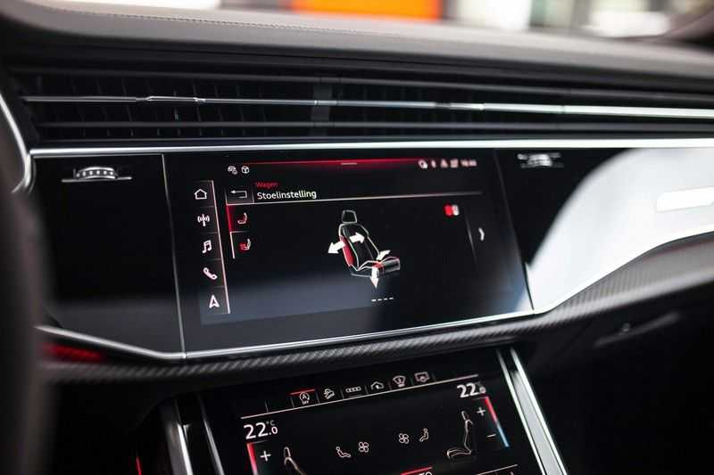 "Audi RS Q8 4.0 TFSI Quattro *RS-Dynamic Plus / Keramisch / Massage / HUD / 23"" / B&O* afbeelding 21"