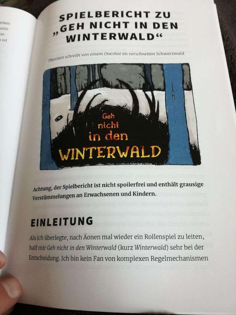 Foto des Winterwald-Spielberichts