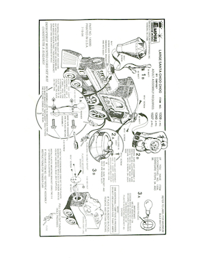 Empire Large Santa Choo Choo #1339, 1340, 1537 Instruction Manual.pdf preview
