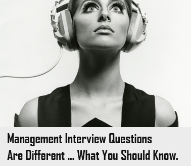 Management interview questions image.