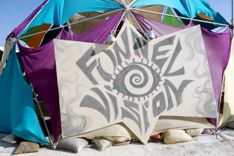 Burning Man Funnel Cake Camp