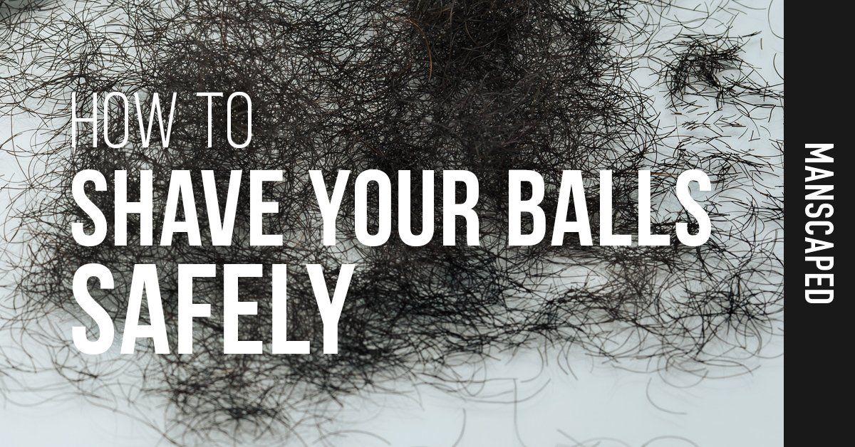 Balls video your shaving VIDEO HOW