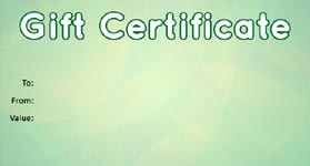 Gift Certificate Template Business 05
