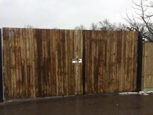 Closeboard Fencing Large Gate